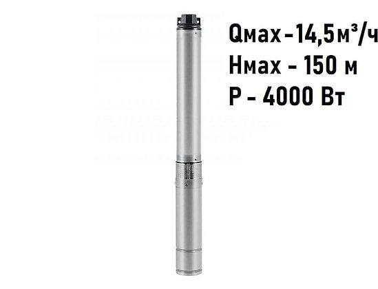 Скважинный погружной промышленный трехфазный насос Unipump ЭЦВ 4-8-110 для скважины