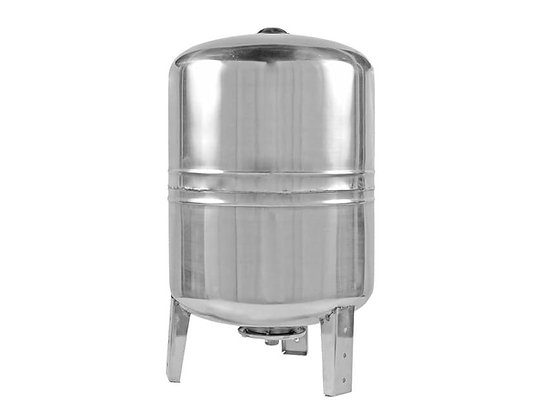 Гидроаккумулятор UNIPUMP 100 литров В из нержавещей стали ( нерж ) вертикальный для систем водоснабжения