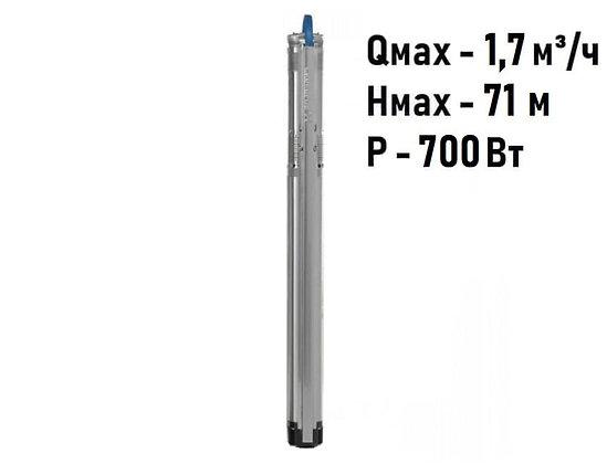 Насос скважинный с частотным регулированием Grundfos SQE 1-50 арт. 96510141