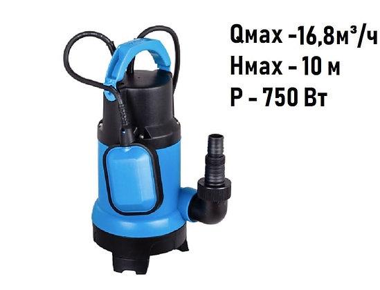 Дренажный погружной насос Aquario ADS-1700 для грязной воды
