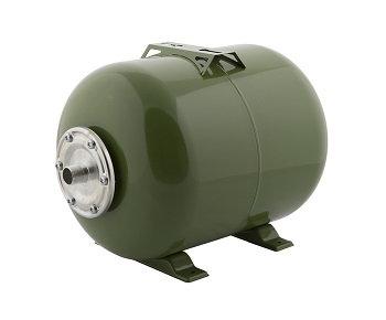 Гидроаккумулятор Тополь 50 литров ГМ горизонтальный для систем водоснабжения