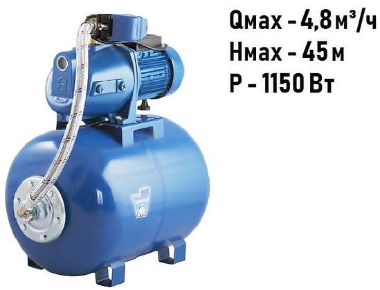 Насосная станция для воды Aquario AUTO AJC-125C (50L) с гидроаккумулятором 50 литров