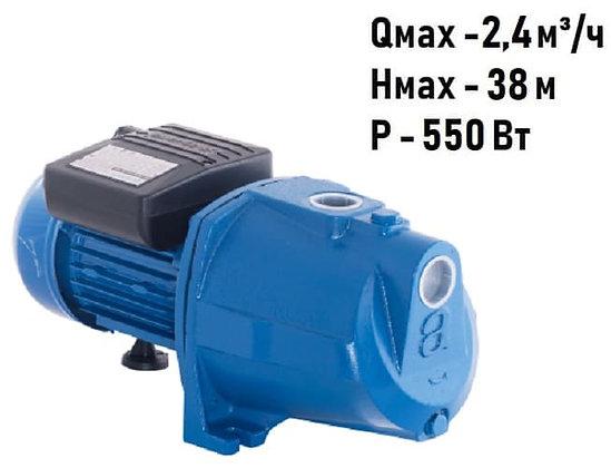Поверхностный центробежный самовсасывающий насосAquario AJC-60C для повышения давления воды частного дома, скважина колодец
