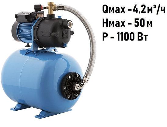 система автоматического водоснабжения ДЖАМБО 70/50 П-50 П Дом Джилекс насосная станция с контроллером давления