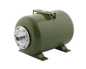 Гидроаккумулятор Тополь 24 литра горизонтальный для систем водоснабжения