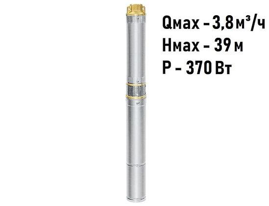 Скважинный погружной насос UNIPUMP ЕСО MINI 2-30 центробежный глубинный для скважины