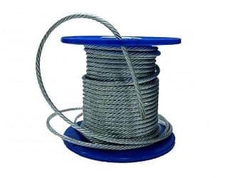 Трос из нержавеющей стали 4 мм для подвешивания погружного насоса в скважину