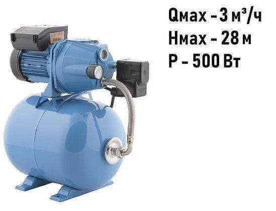 насосная станция ДЖАМБО 50/28 Ч 18 Джилекс насос-автомат с реле давления