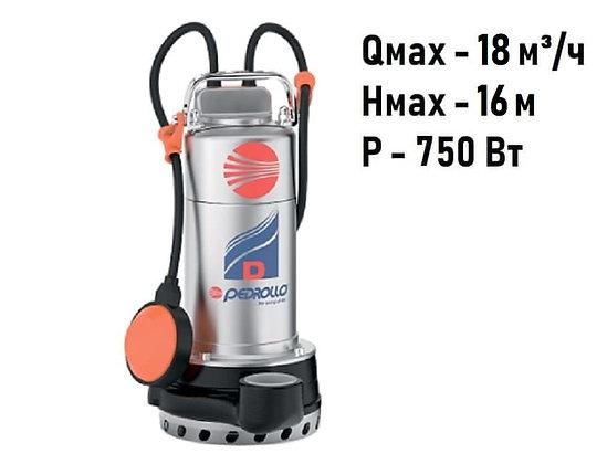 Pedrollo Dm 10-N погружной дренажный насос для дренажа грязной воды