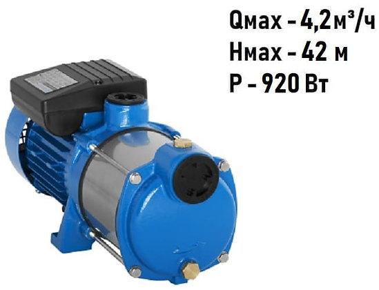 Поверхностный центробежный многоступенчатый насосAquario AMH 80-4P для воды водоснабжения частного дома колодец скважина