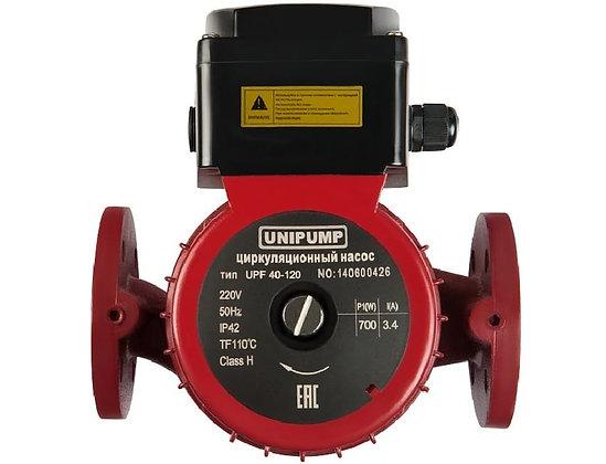 Циркуляционный насос Unipump UPF 40-120 250 для отопления с фланцевым соединением 32 мм