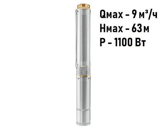 Скважинный погружной насос Unipump ЕСО 5-50 глубинный умный центробежный для скважины колодца