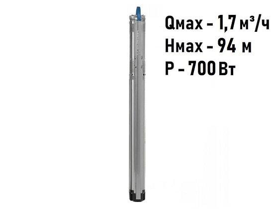 Насос скважинный с частотным регулированием Grundfos SQE 1-65 арт. 96510142