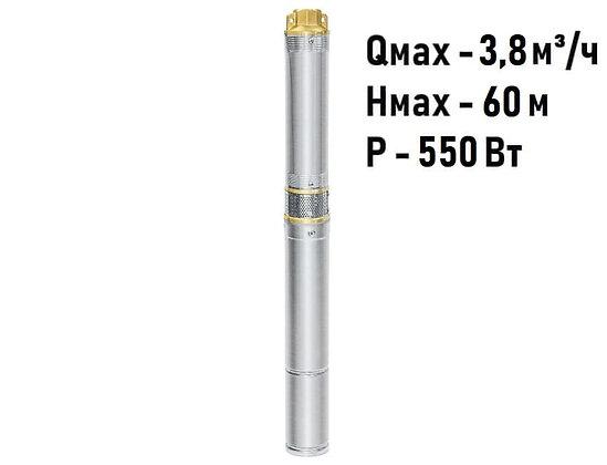 Скважинный погружной насос UNIPUMP ЕСО MINI 2-46 центробежный глубинный для скважины