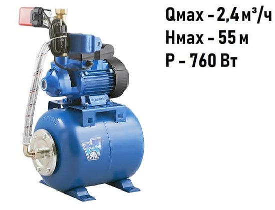 Насосная станция для повышения давления воды Aquario ADB-60(H) защита от сухого хода