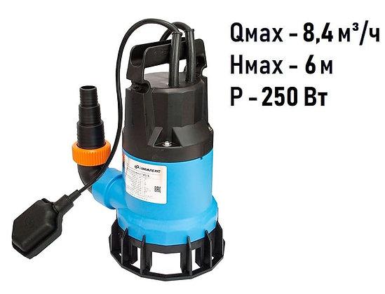 Фекальный насос Джилекс «Фекальник» 140/6 для грязной воды и канализации
