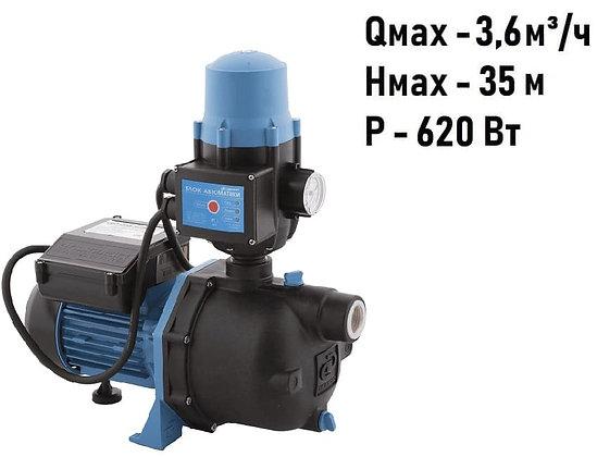 насос-автомат ДЖАМБО 60/35 П-К Джилекс адаптивная насосная станция с контролем потока воды