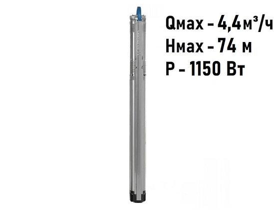 Насос скважинный с частотным регулированием Grundfos SQE 3-55 арт. 96510158
