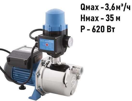 насос-автомат ДЖАМБО 60/35 Н-К Джилекс адаптивная насосная станция с контролем потока воды