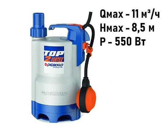 Pedrollo TOP3-VORTEX погружной дренажный насос для грязной воды