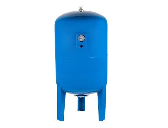 Гидроаккумулятор UNIPUMP 200л вертикальный с манометром для систем водоснабжения