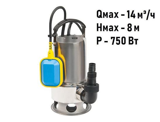Дренажный насос INOXVORT 750 SW Unipump для грязной воды