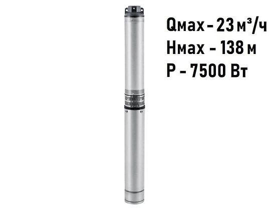 Скважинный погружной промушленный трехфазный насос Unipump ЭЦВ 5-15-80 для скважины