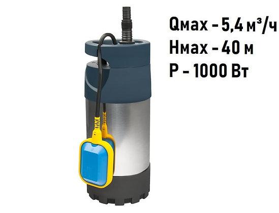 Дренажный погружной насос Unipump MULTISUB 1000 для грязной воды