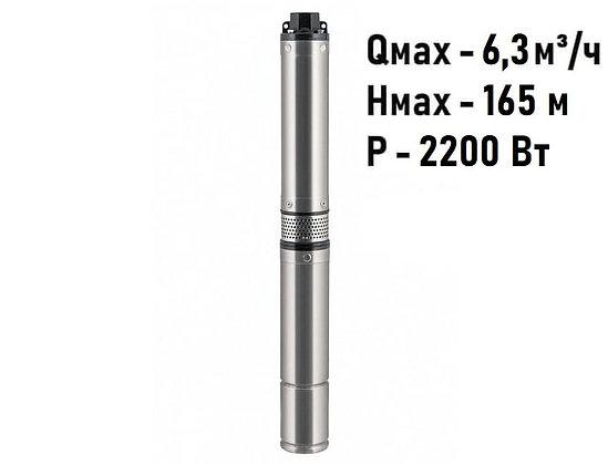 Погружной скважинный насос Unipump БЦП 3,5-0,63-150 (кабель 1 м)