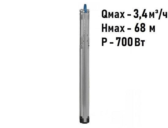 Насос скважинный с частотным регулированием Grundfos SQE 2-55 арт. 96510151