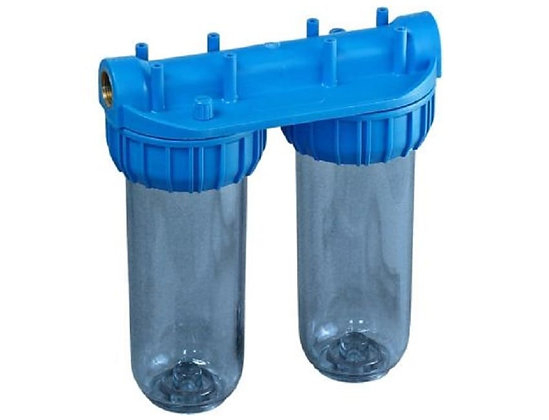 "Колба фильтра Kristal Filter Slim D 10"" T 3/4"" (прозрачная)"