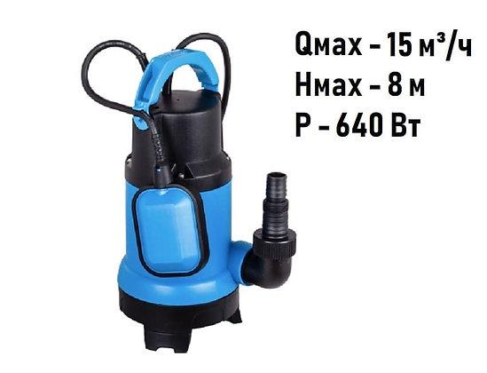 Дренажный погружной насос Aquario ADS-1500 для грязной воды