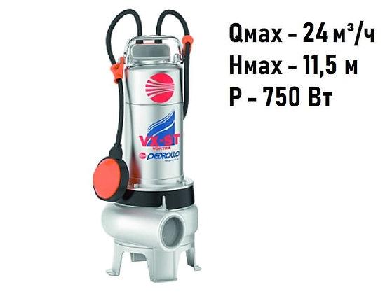 Дренажно-фекальный насос Pedrollo VXm 10/35-ST для грязной воды и канализации