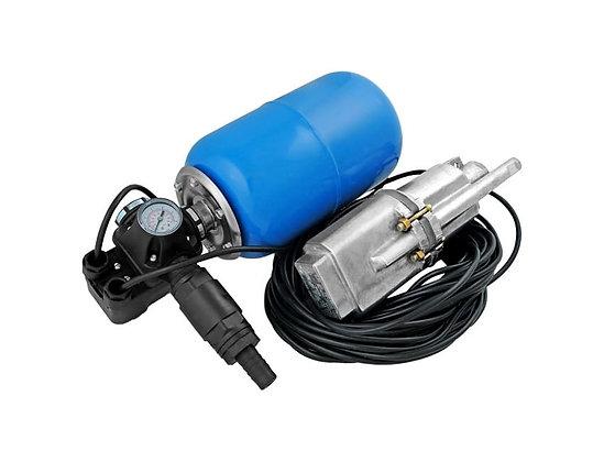 Автоматическая насосная станция водоснабжения Unipump АКВАРОБОТ М 5-40с гидроаккумулятором 5л погружной вибрационный насос
