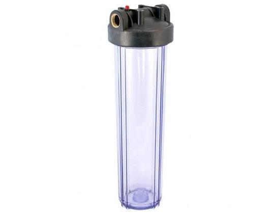 "Колба фильтра Kristal Filter Big Blue 20"" T 1"" (прозрачная)"