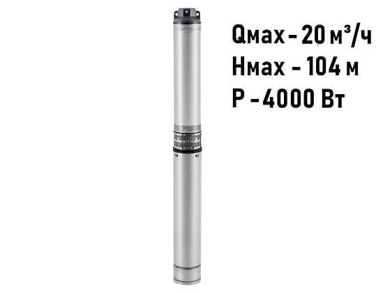 Скважинный погружной промушленный трехфазный насос Unipump ЭЦВ 5-10-70 для скважины