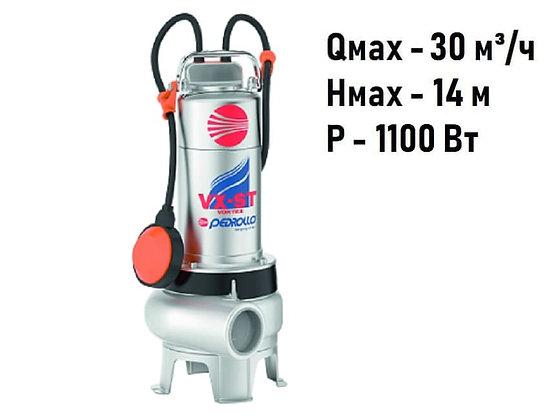 Дренажно-фекальный насос Pedrollo VXm 15/35-ST для грязной воды и канализации