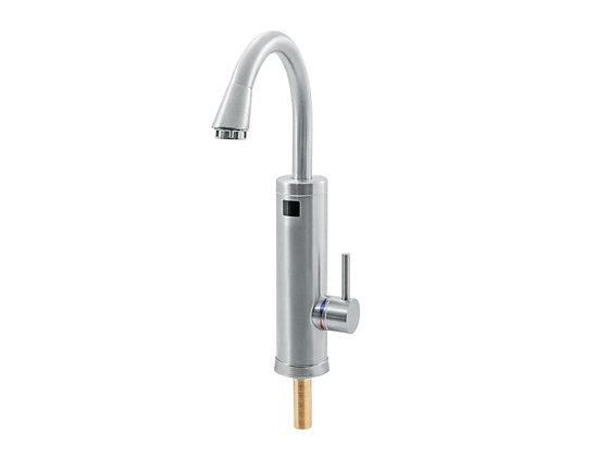Кран-водонагреватель проточный Unipump BEF-003N для нагрева холодной воды нержавеющая сталь