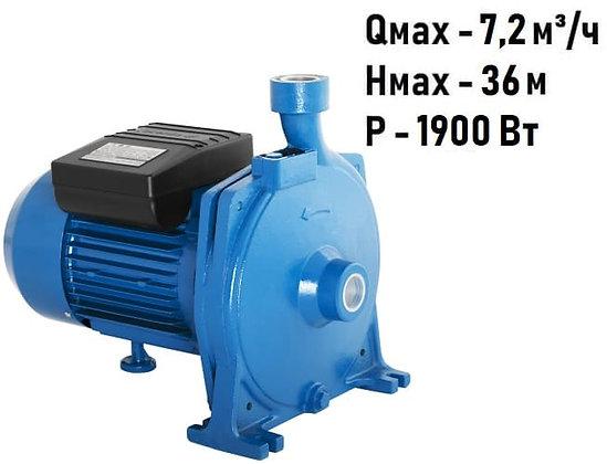 Поверхностный центробежный консольный моноблочный насосAquario APM-180 для воды водоснабжения частного дома
