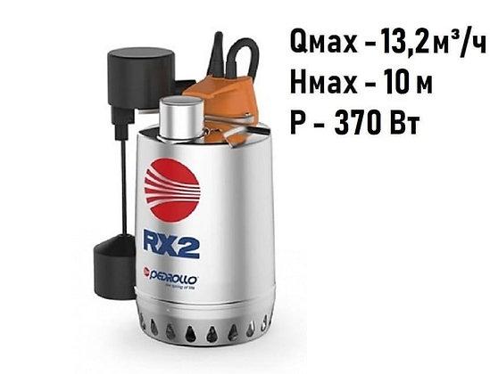 Pedrollo RXm 2-GM погружной дренажный насос для дренажа грязной воды