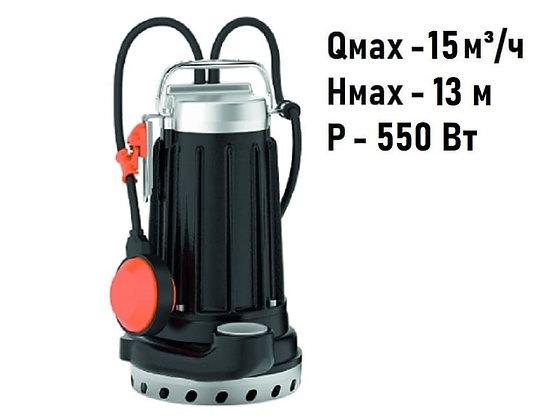 Pedrollo DCm 8-N погружной дренажный насос для дренажа грязной воды