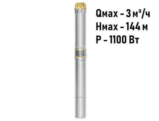 Скважинный погружной насос UNIPUMP ЕСО MINI 1-120 центробежный глубинный для скважины