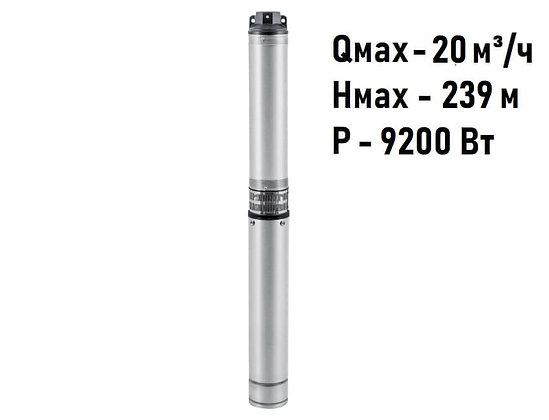 Скважинный погружной промушленный трехфазный насос Unipump ЭЦВ 5-10-165 для скважины