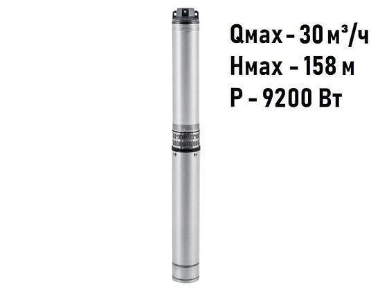 Скважинный погружной промушленный трехфазный насос Unipump ЭЦВ 5-20-100 для скважины