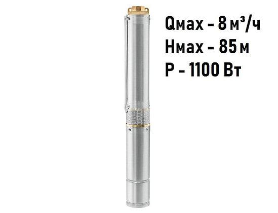 Скважинный погружной насос Unipump ЕСО 4-66 глубинный умный центробежный для скважины колодца