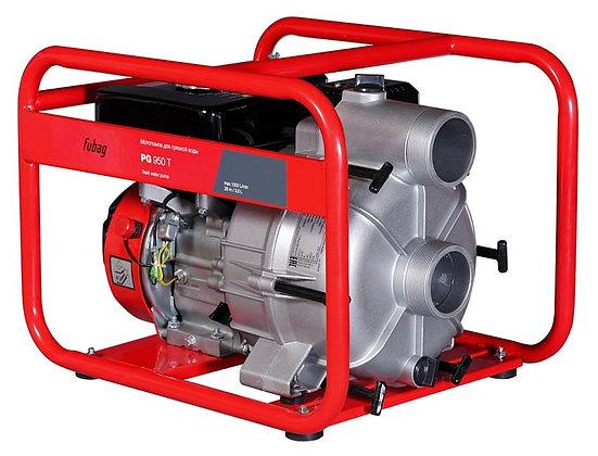 Бензиновая мотопомпа для сильнозагрязненной воды и грязи FUBAG PG 950T