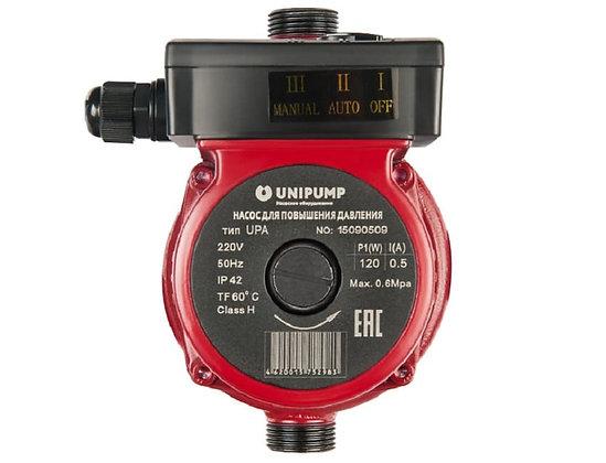 Повысительный циркуляционный насос Unipump UPА 15-120 195мм для повышения давления воды