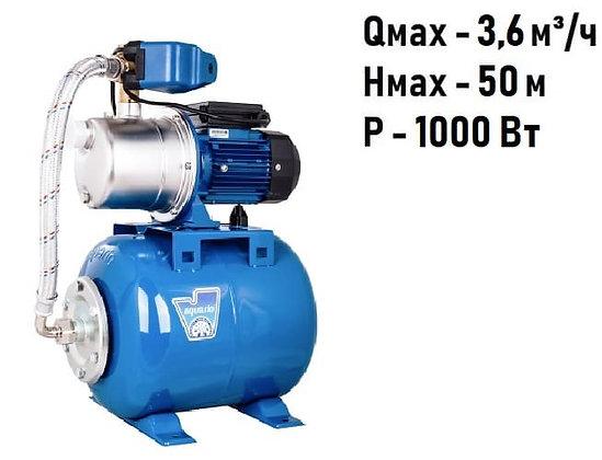 Насосная станция для воды Aquario AUTO AJS-100A нержавеющая сталь