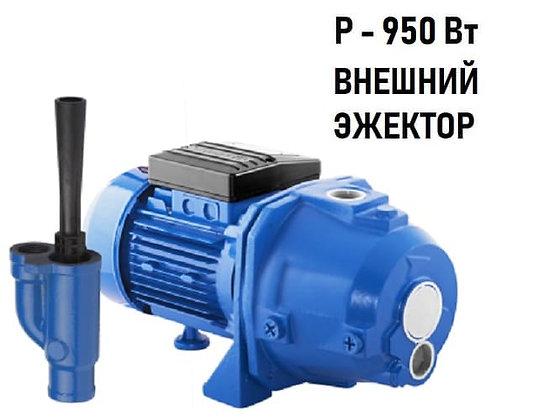 Поверхностный центробежный самовсасывающий насосAquario ADP-355 внешний эжектор для частного дома, скважина колодец