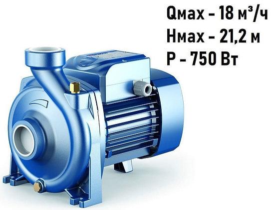 Поверхностный однофазный центробежный насосPedrollo HFm 51A одноступенчатый высокопроизводительный для воды
